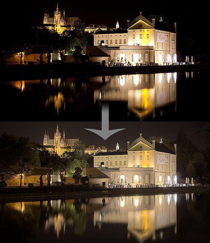 Foto kurz HDR, RAW, PANORÁMA A ARCHITEKTÚRA - nočné fotografovanie
