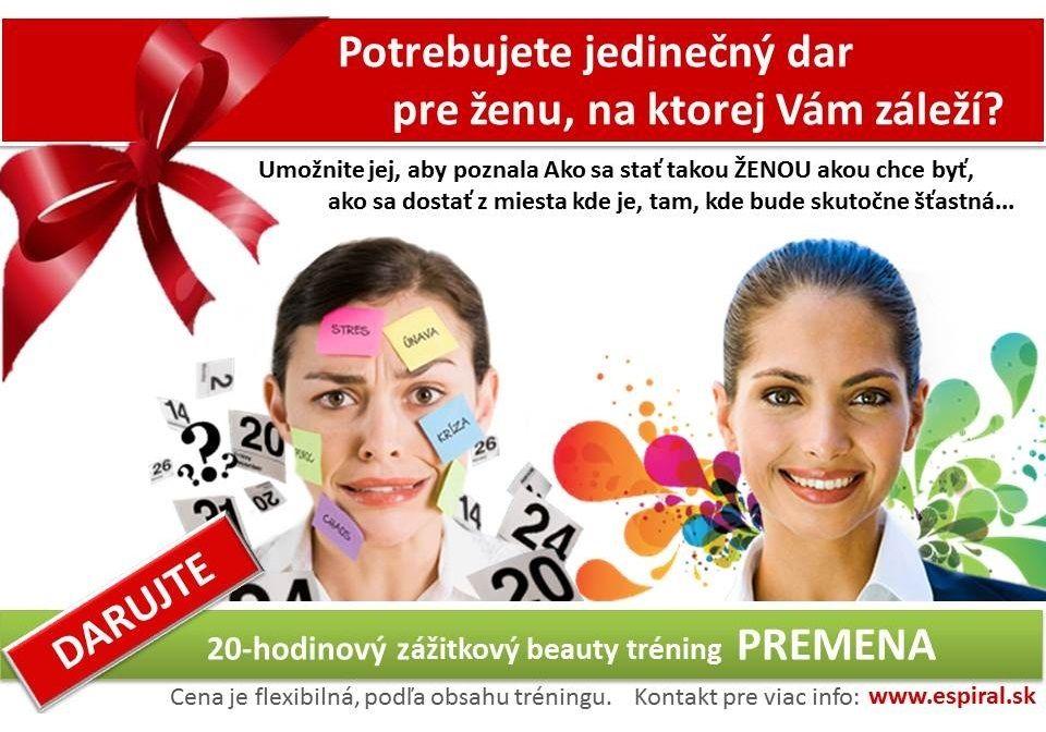PREMENA | 20-hodinový zážitkový beauty tréning