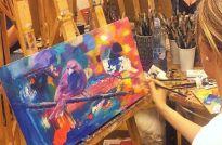 AKRYL - Kreatívne techniky maľby od A po Z
