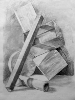 Kresliarsky kurz - Štúdia zátišia