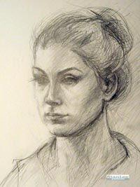 Kresliarsky kurz - Štúdia portrétu