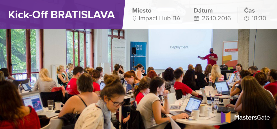 MastersGate: Kick-off Bratislava