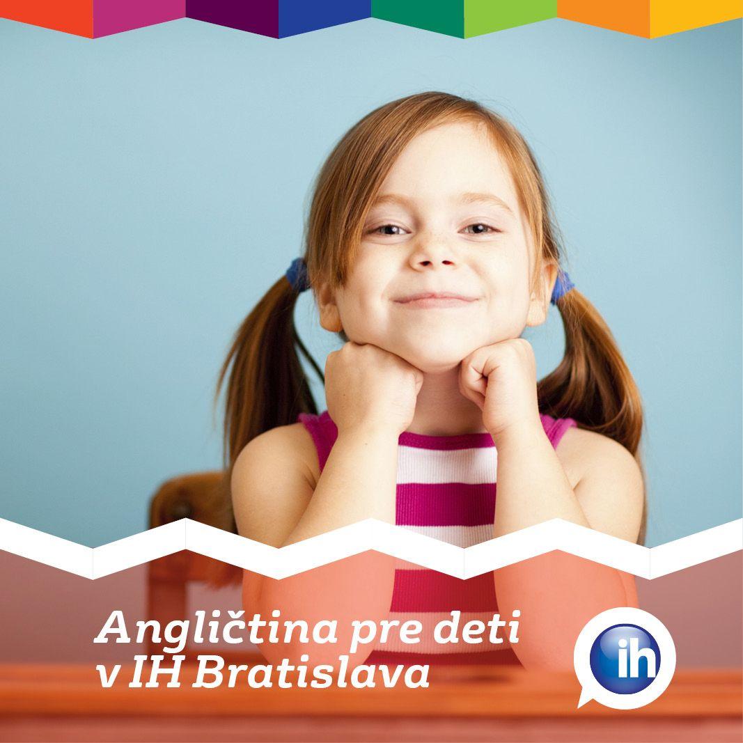 Angličtina pre deti v IH Bratislava