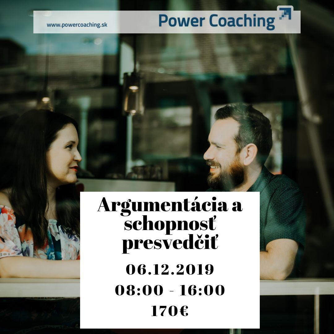 Argumentácia a schopnosť presvedčiť