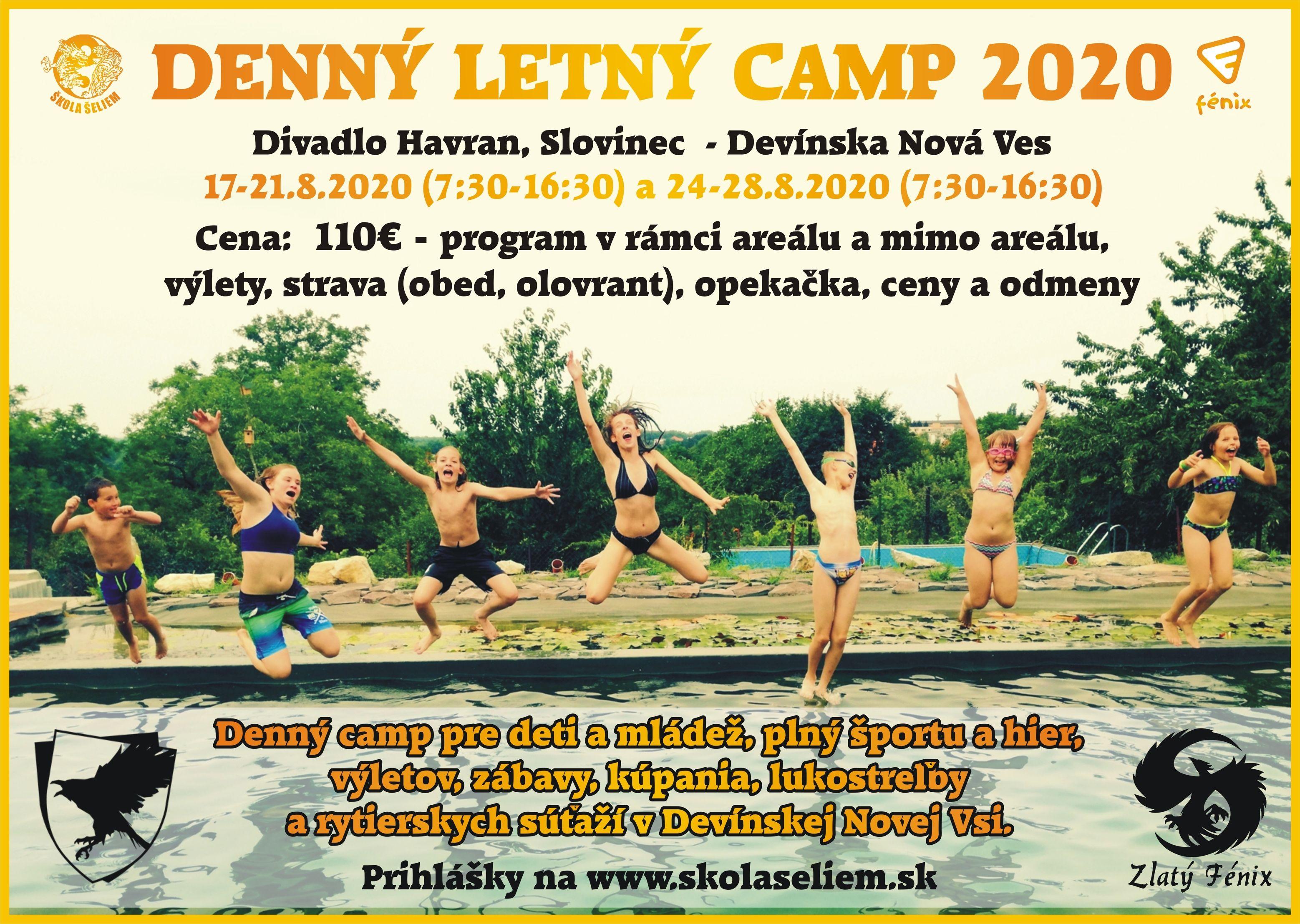 Denný letný camp 2020