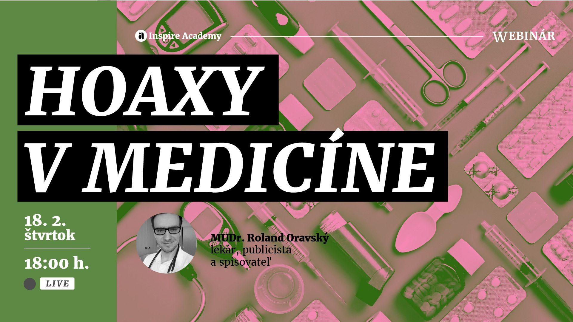 Hoaxy v medicíne | Webinár