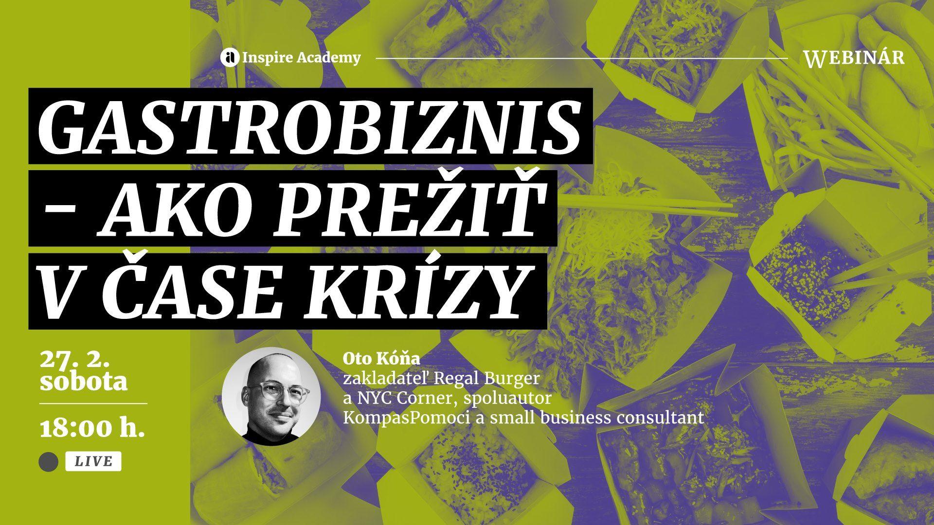 Kurz zásad úspešného podnikania v gastronómii v čase pandemickej krízy