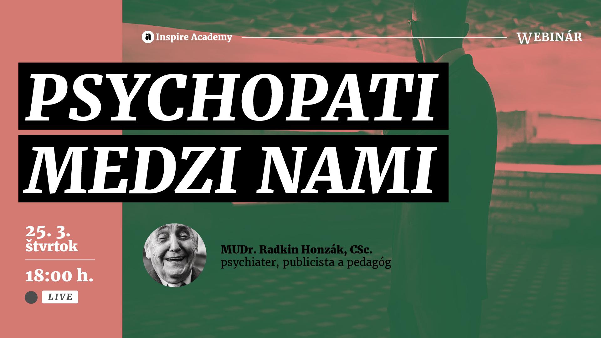 Radkin Honzák: Psychopati medzi nami