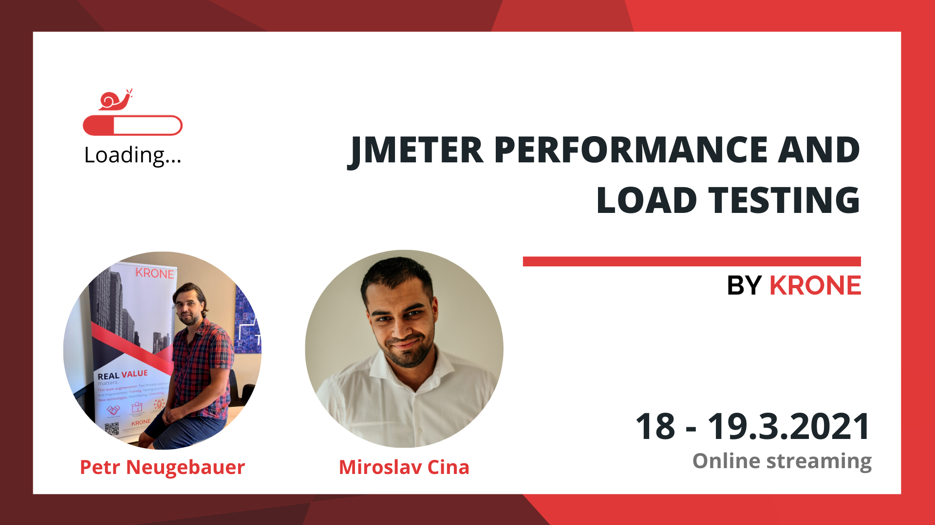 JMeter performance and load testing course