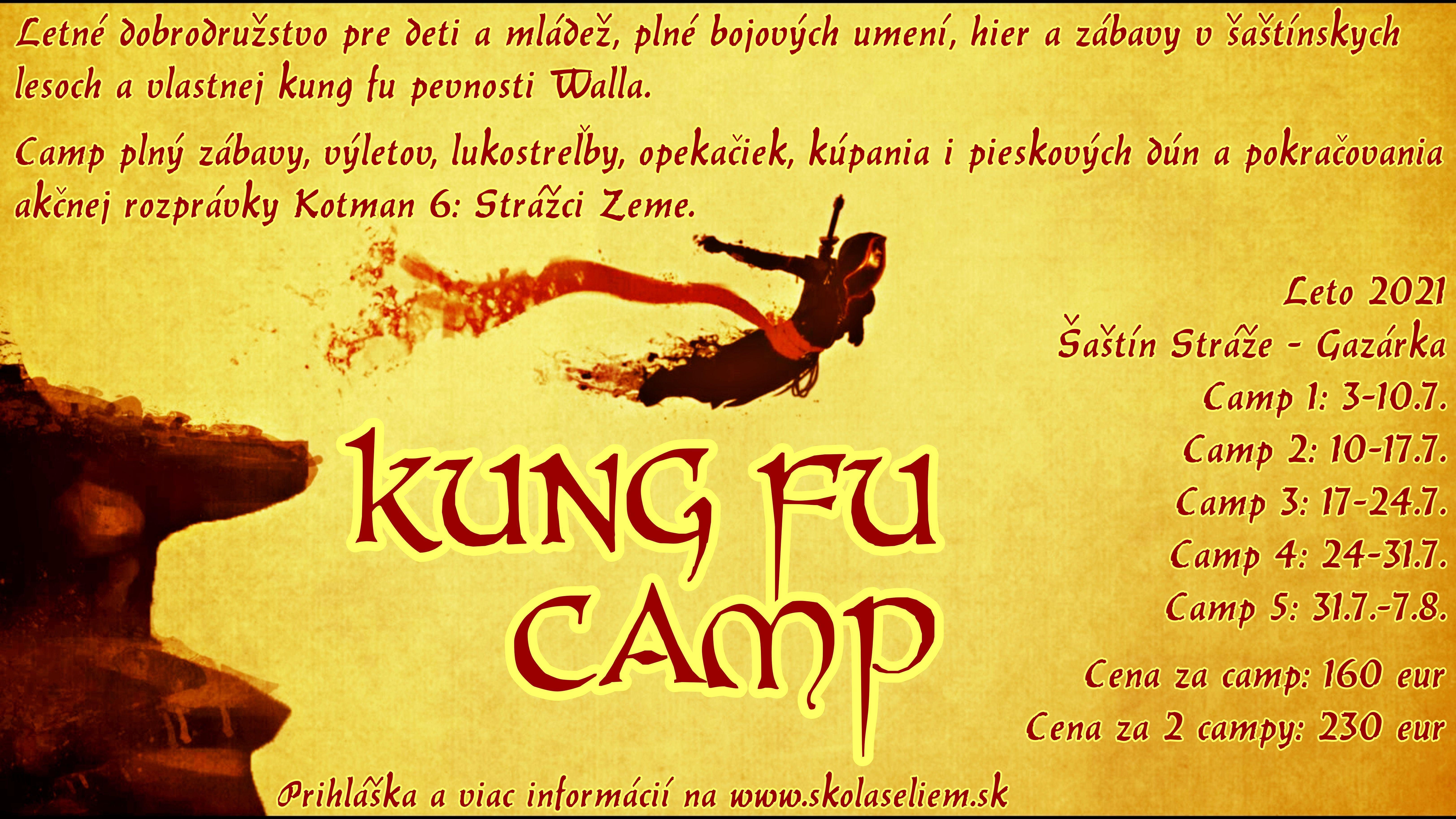 Kung fu camp 2021