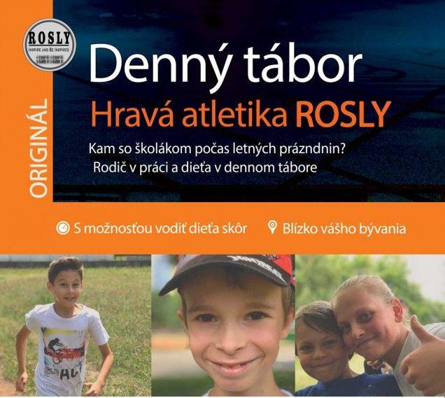 Denný tábor hravá atletika ROSLY v Žiline