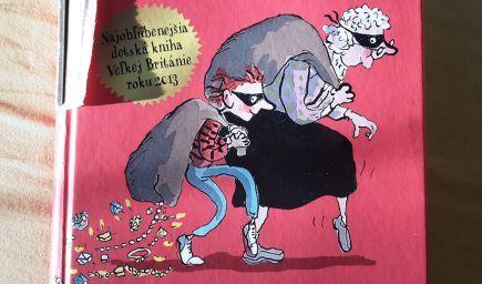 Knihy pre deti: Babka Gaunerka (David Walliams)