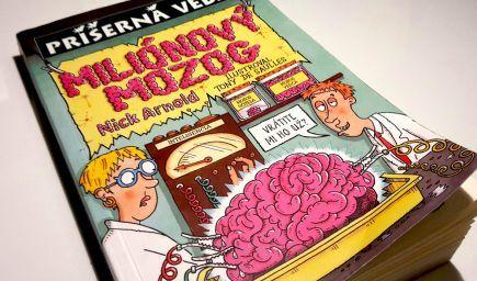 Knihy pre deti: Miliónový mozog (Nick Arnold)