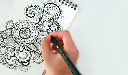 Zen&Tangle, kresba, ktorá pomáha meditovať