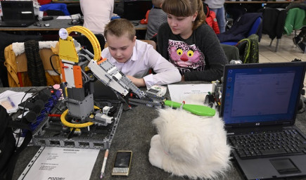 Trenčianske výstavisko opäť ovládli moderné technológie a roboty