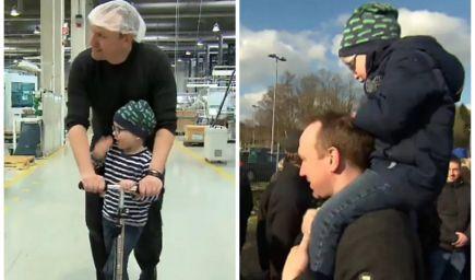 Zamestnanci darovali 3 300 hodín práce svojmu kolegovi, ktorý prišiel o manželku a potreboval sa starať o syna s rakovinou