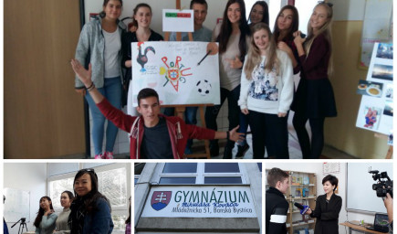 Záujem o slovensko-čínske štúdium na gymnáziu v Banskej Bystrici rastie