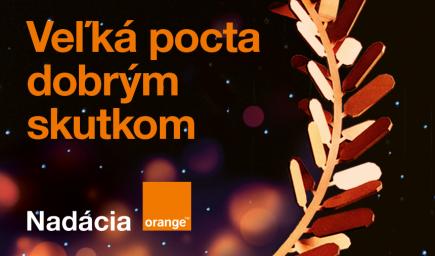 Cena Nadácie Orange: Neziskovky majú ešte 7 dní na predstavenie svojich dobrých skutkov