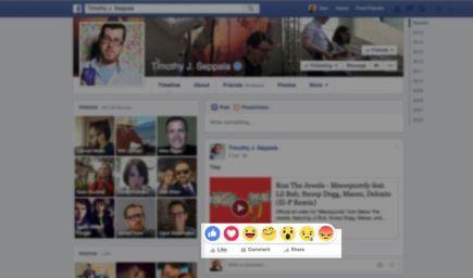 """K tlačítku """"Páči sa mi"""" pribudnú na Facebooku nové alternatívy"""