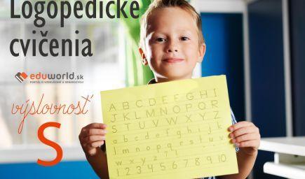 Logopedické cvičenia - výslovnosť S