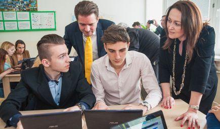 Ďalšie tri slovenské školy majú moderné triedy
