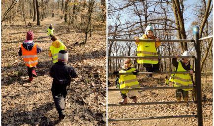 Pohybom ku zdraviu? Bratislavskí škôlkari začínajú rána behom cez les a zdolávaním prekážkových dráh