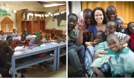Slovenka učí deti v africkom slume: Deti sa musia naučiť v škole všetko