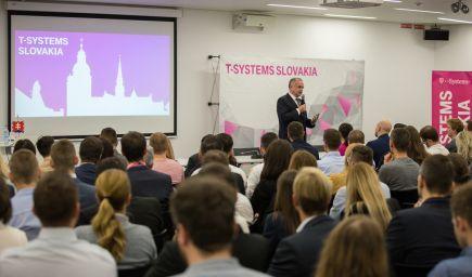 Prezident Andrej Kiska sa stretol s mladými IT odborníkmi z východného Slovenska