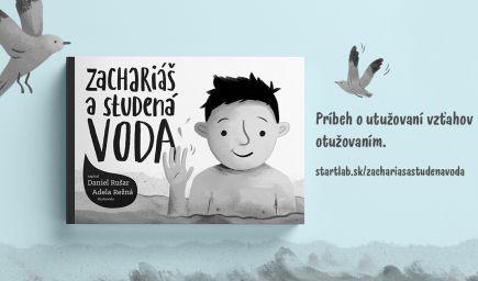 Zachariáš a studená voda - detská knižka o otužovaní, našich rodičovských obavách a dôvere k dieťaťu