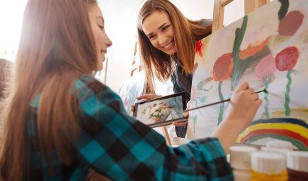 Chcete mať šikovné deti? Zoznámte ich s umením!