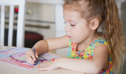 Riekanky a básničky na rozcvičenie prštekov pred kreslením a písaním