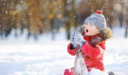Zimné riekanky pre deti