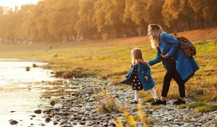7 dôvodov, prečo je dôležité chodiť s deťmi na prechádzky