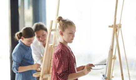 Výskum ukazuje, že umenie má pozitívny vplyv na vzdelávanie detí