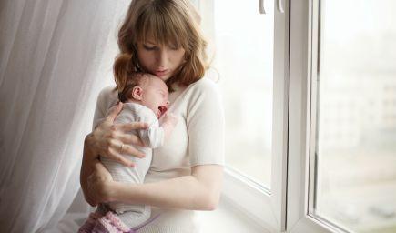Baby blues a popôrodná psychóza