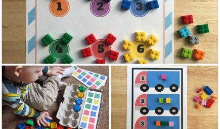 Matematika pre najmenších: Tipy, ako sa učiť počítať s legom