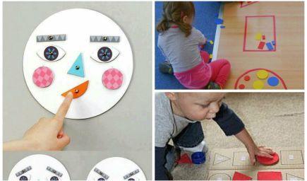 Matematika pre najmenších: Učíme sa tvary