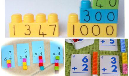 Matematika s legom pre malých školákov