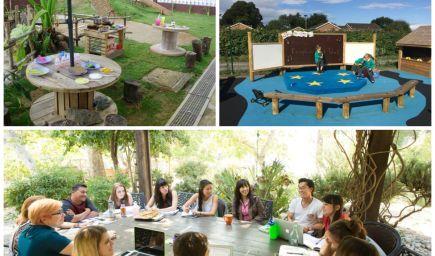 Outdoorové vyučovanie: Inšpirácie, ako môže vyzerať trieda aj na vašom školskom dvore