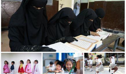 40 neobyčajných fotografií, ktoré zachytávajú, ako chodia dievčatá vo svete do školy