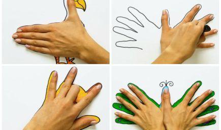 Tipy na kreslenie s predškolákmi: Pomôžte si obkresľovaním rúk