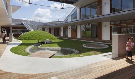 Japonská škôlka zbližuje deti s prírodou aj v meste