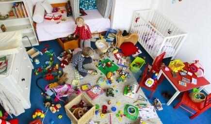 Chcete, aby si deti upratovali detskú izbu? Skúste tieto stratégie!