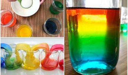 Jednoduché vedecké experimenty, ktoré deti očaria