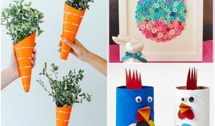 Vytvorte si s deťmi veľkonočné dekorácie