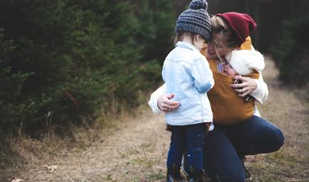 Deti preberajú slovnú zásobu od otca a rozprávať sa učia od mamy
