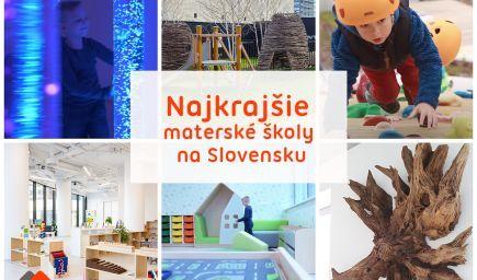 Najkrajšie škôlky na Slovensku sú pre deti skutočným rajom