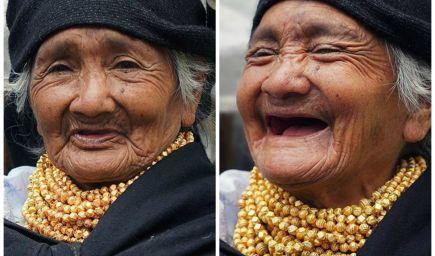 Fotograf zachytil, ako sa menia ľudia, ak im poviete, že sú nádherní