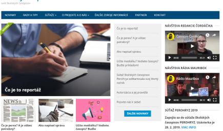ŠkolskýČasopis.sk je nová platforma na podporu mediálnej gramotnosti a rozvoj školských časopisov