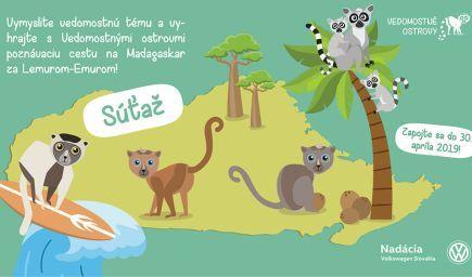 Vymyslite vedomostnú tému a vyhrajte s Vedomostnými ostrovmi poznávaciu cestu na Madagaskar!